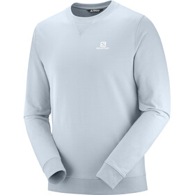 Salomon Shift Pullover A Girocollo Uomo, ashley blue/wht